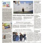Bündner Tagblatt 31.01.2017: Buenos Aires-Chur