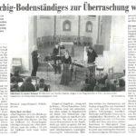 Schweizer Programm | Kritik, Die Suedostschweiz 2010