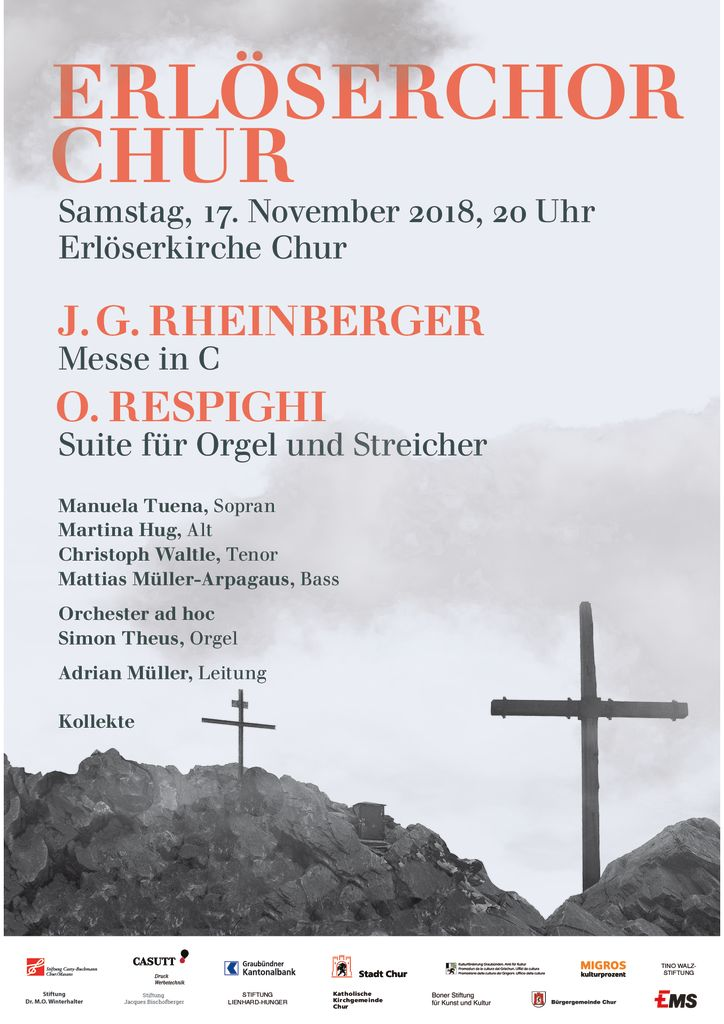 thumbnail of Erlöserchor Flyer Konzert